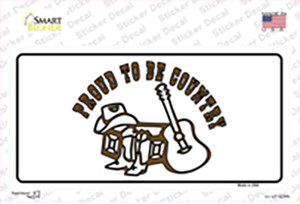 Proud to Be Country Wholesale Novelty Sticker Decal