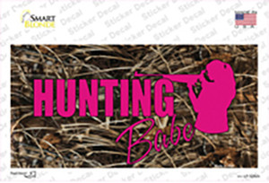 Hunting Babe Wholesale Novelty Sticker Decal