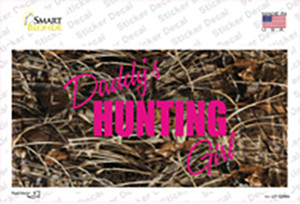 Daddys Hunting Girl Wholesale Novelty Sticker Decal