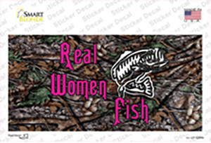 Real Women Fish Wholesale Novelty Sticker Decal