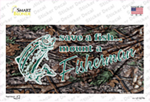 Save A Fish Wholesale Novelty Sticker Decal