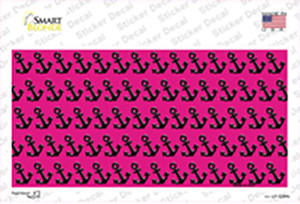 Pink Black Anchor Wholesale Novelty Sticker Decal