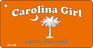 Carolina Girl Orange Wholesale Novelty Key Chain