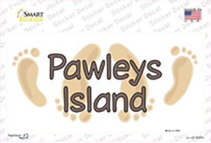 Pawleys Island Foots Wholesale Novelty Sticker Decal