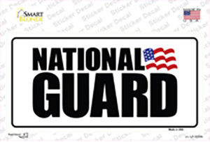 National Guard Wholesale Novelty Sticker Decal