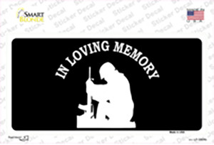 In Loving Memory Sitting Wholesale Novelty Sticker Decal