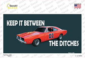 Between The Ditches Wholesale Novelty Sticker Decal