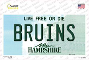 Bruins New Hampshire Wholesale Novelty Sticker Decal