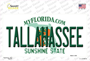 Tallahassee Florida Wholesale Novelty Sticker Decal