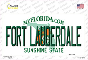 Fort Lauderdale Florida Wholesale Novelty Sticker Decal