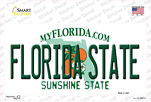 Florida State Wholesale Novelty Sticker Decal