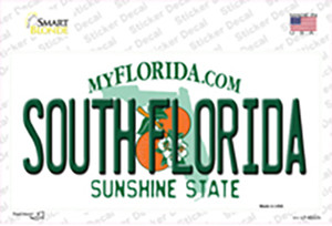 South Florida Wholesale Novelty Sticker Decal