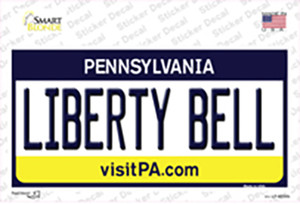 Liberty Bell Pennsylvania State Wholesale Novelty Sticker Decal