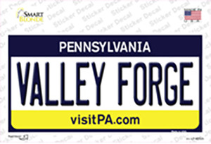 Valley Forge Pennsylvania State Wholesale Novelty Sticker Decal