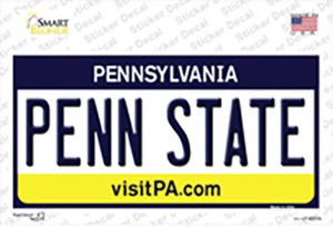 Penn State Pennsylvania State Wholesale Novelty Sticker Decal