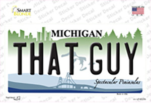 That Guy Michigan Wholesale Novelty Sticker Decal