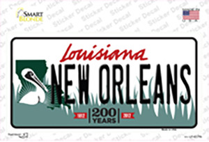 New Orleans Louisiana Wholesale Novelty Sticker Decal