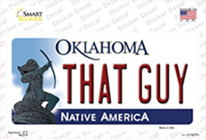 That Guy Oklahoma Wholesale Novelty Sticker Decal