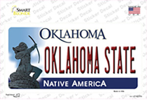 Oklahoma State Wholesale Novelty Sticker Decal