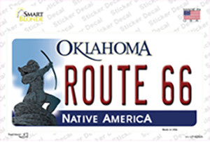 Route 66 Oklahoma Wholesale Novelty Sticker Decal