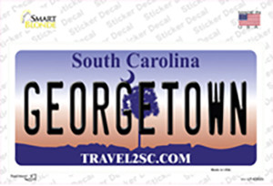 Georgetown South Carolina Wholesale Novelty Sticker Decal