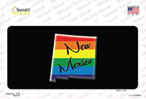 New Mexico Rainbow Wholesale Novelty Sticker Decal