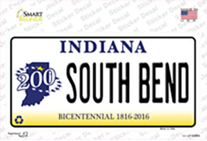 South Bend Indiana Wholesale Novelty Sticker Decal