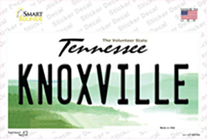 Knoxville Tennessee Wholesale Novelty Sticker Decal