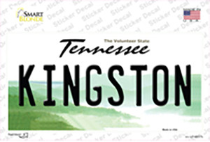 Kingston Tennessee Wholesale Novelty Sticker Decal