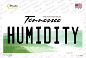 Humidity Tennessee Wholesale Novelty Sticker Decal