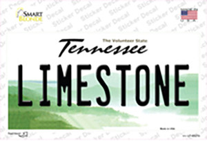 Limestone Tennessee Wholesale Novelty Sticker Decal