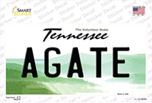 Agate Tennessee Wholesale Novelty Sticker Decal