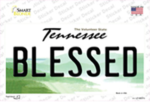 Blessed Tennessee Wholesale Novelty Sticker Decal