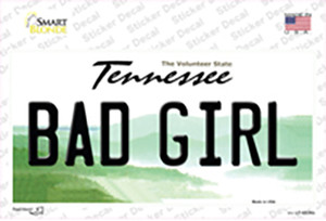 Bad Girl Tennessee Wholesale Novelty Sticker Decal
