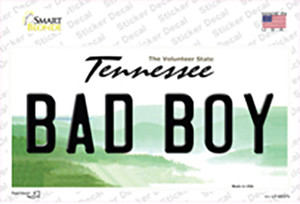 Bad Boy Tennessee Wholesale Novelty Sticker Decal