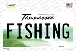 Fishing Tennessee Wholesale Novelty Sticker Decal