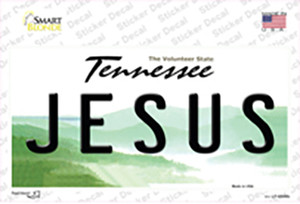 Jesus Tennessee Wholesale Novelty Sticker Decal
