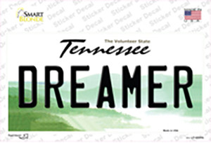 Dreamer Tennessee Wholesale Novelty Sticker Decal