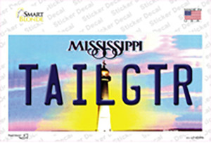 Tailgtr Mississippi Wholesale Novelty Sticker Decal