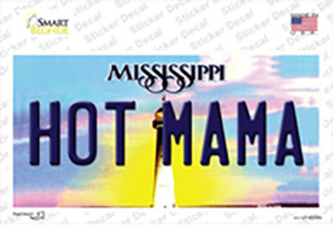 Hot Mama Mississippi Wholesale Novelty Sticker Decal