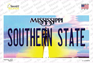 Southern State Mississippi Wholesale Novelty Sticker Decal