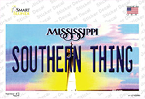 Southern Thing Mississippi Wholesale Novelty Sticker Decal