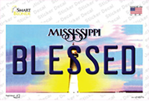 Blessed Mississippi Wholesale Novelty Sticker Decal