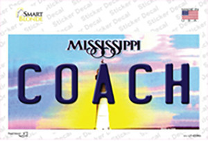 Coach Mississippi Wholesale Novelty Sticker Decal