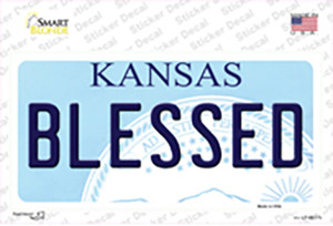 Blessed Kansas Wholesale Novelty Sticker Decal