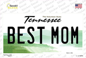 Best Mom Tennessee Wholesale Novelty Sticker Decal