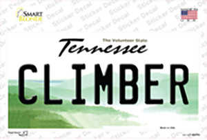 Climber Tennessee Wholesale Novelty Sticker Decal