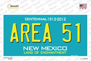 Area 51 New Mexico Wholesale Novelty Sticker Decal