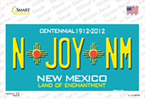 N Joy NM New Mexico Wholesale Novelty Sticker Decal