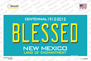 Blessed New Mexico Wholesale Novelty Sticker Decal